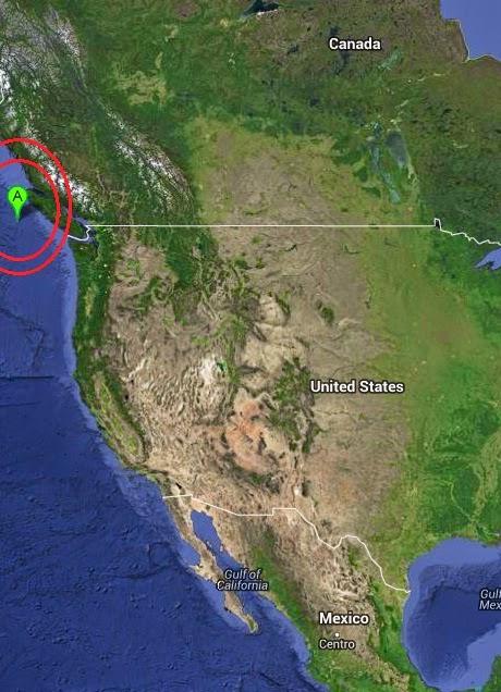 Magnitude 4.0 Earthquake of Port Hardy, Canada 2014-10-12