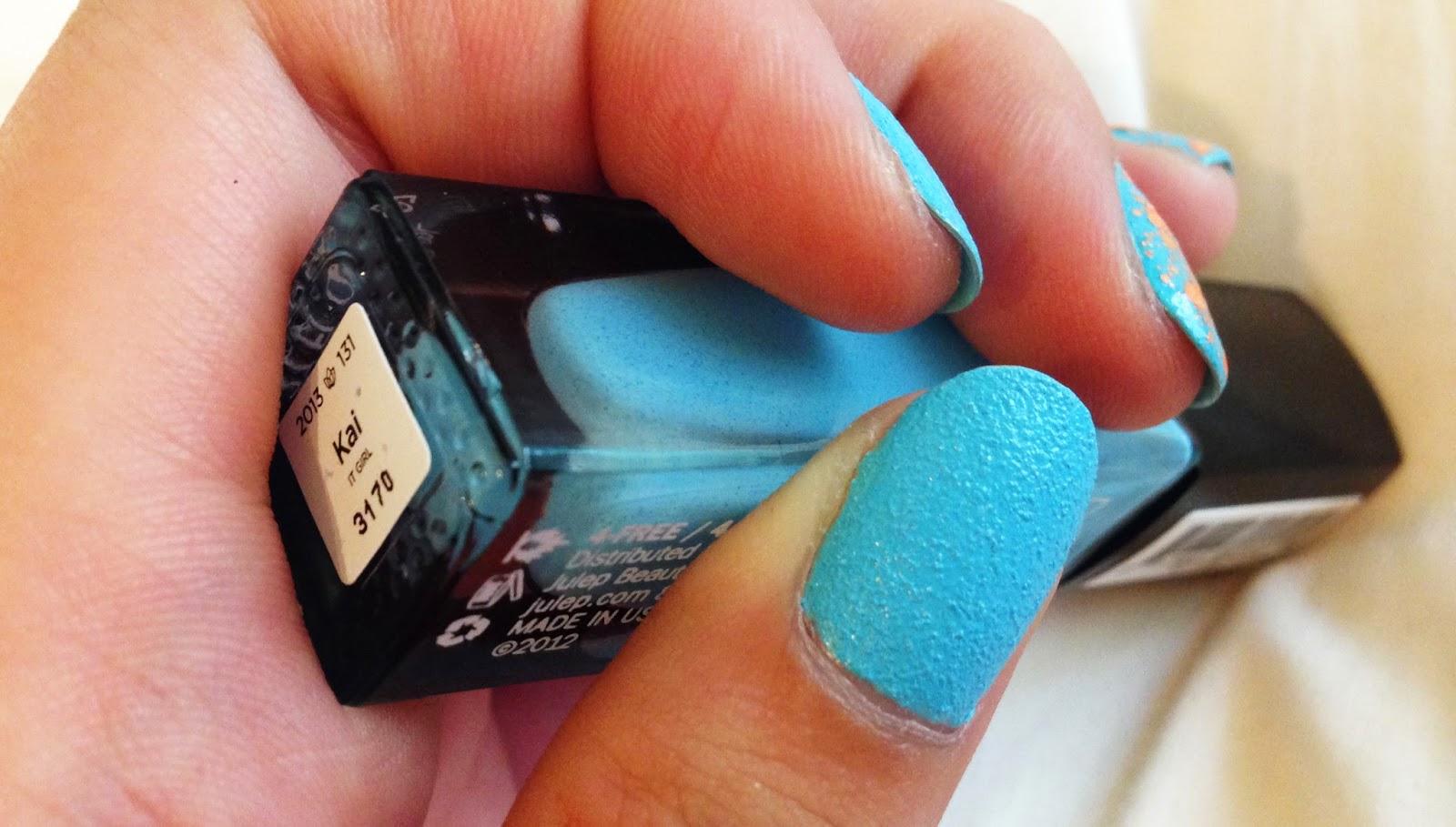 lovelifeoutloud: Nails of the Week #13: Julep in Kai & Sephora ...