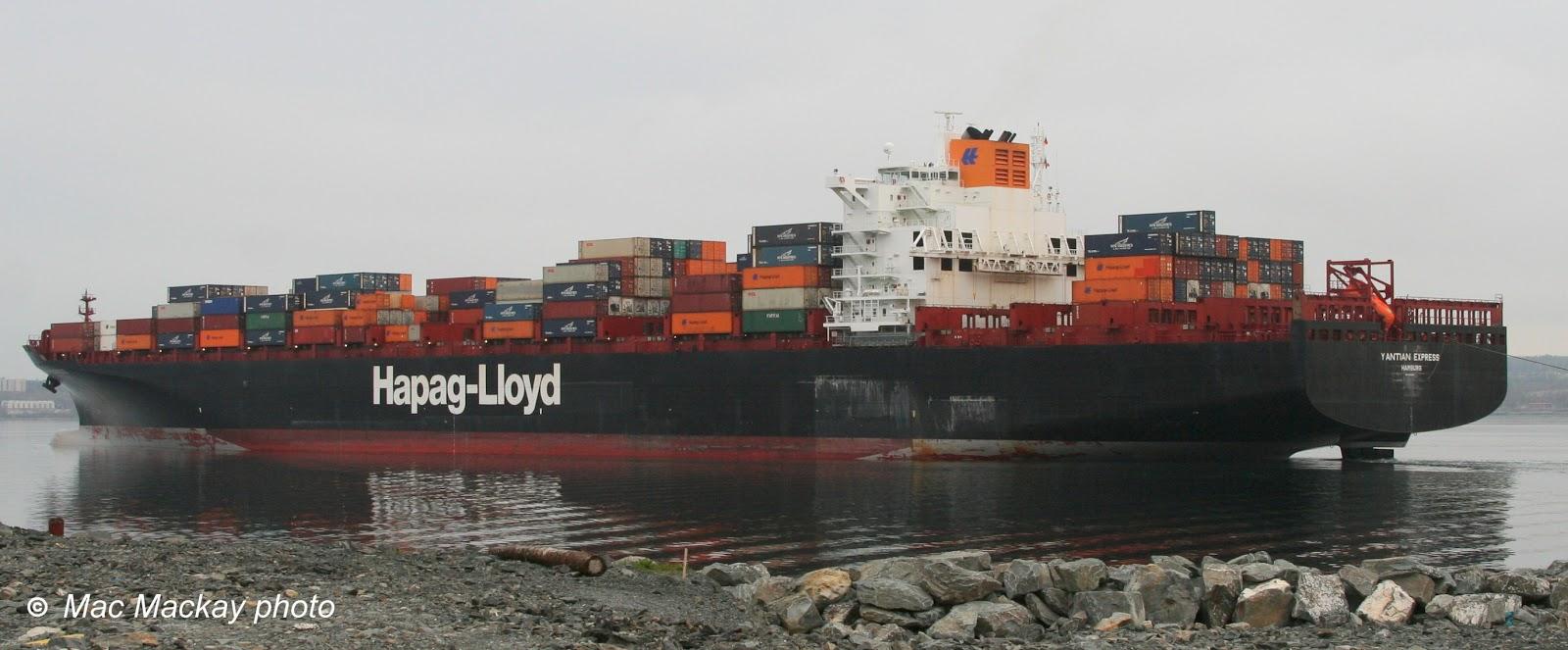 Vessel Tracing  HapagLloyd
