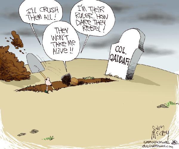 بیستم اکتبر 2011: پایان معمر قذافی