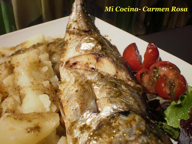 Jurel al horno for Cocinar jurel