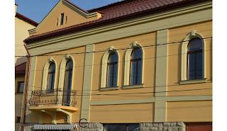 Fatade case cu arcade decorative la ferestre, profile decorative din polistiren pret dej judetul cluj