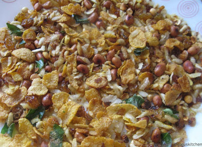 corn flakes mixture-low fat