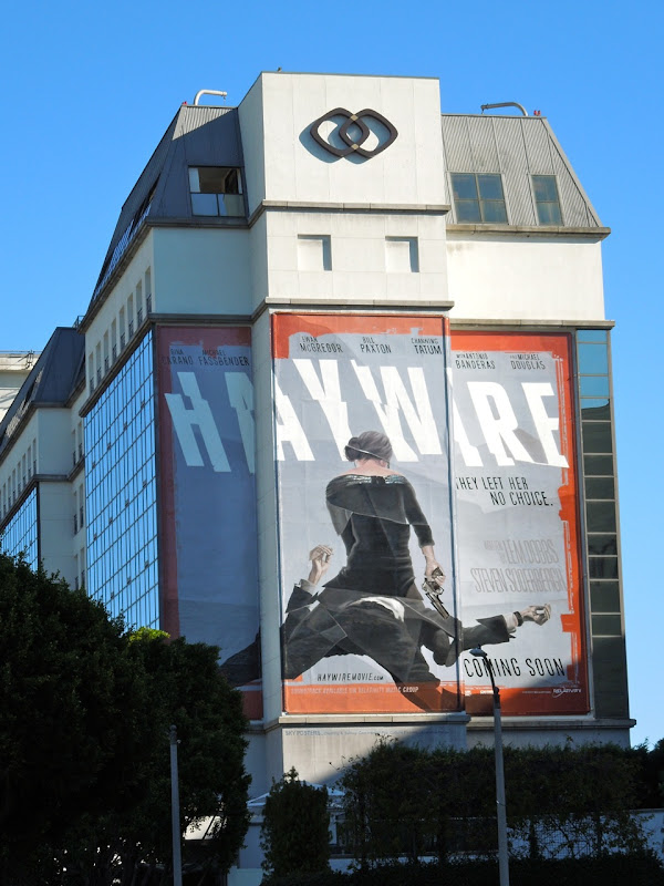 Haywire film billboard