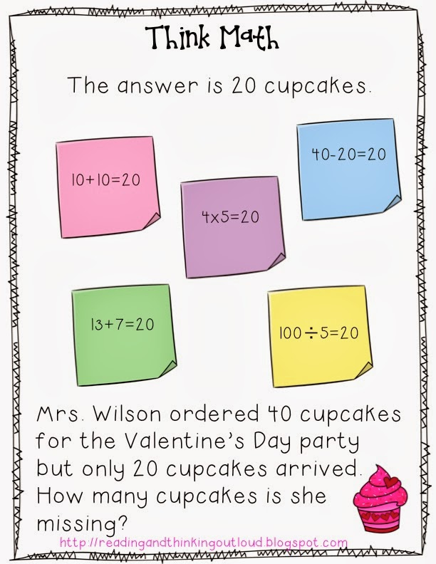 Thinking Out Loud - Think Math