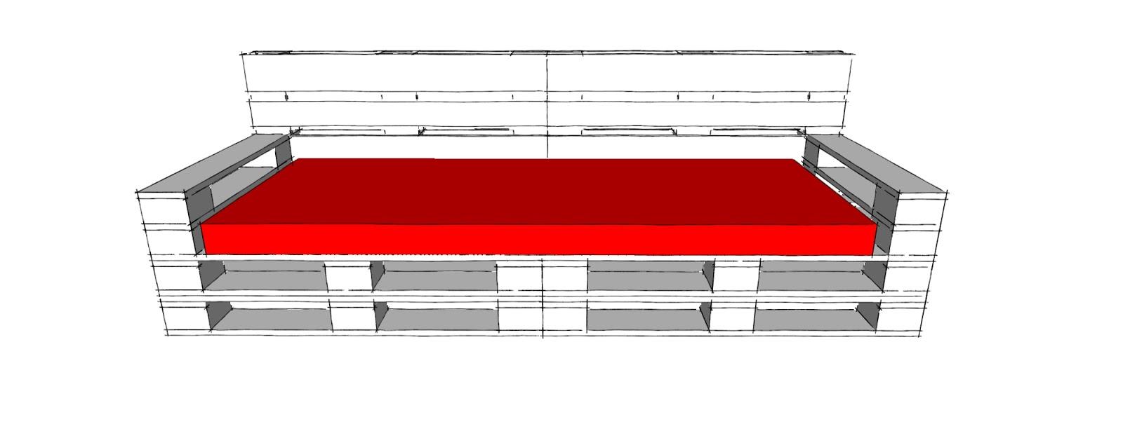 Progettare spazi verdi come costruire un divano con i for Divano bancali