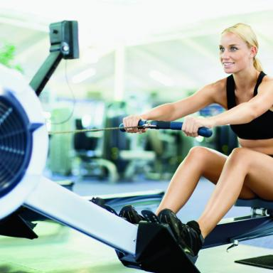 Cardio Fast Lane: 30-Minute Rowing Routine