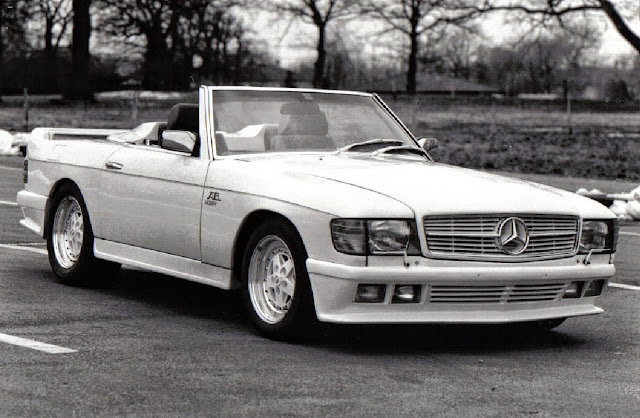 mercedes sl r107 ab design