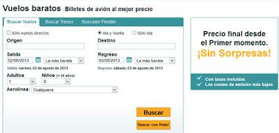 vuelos baratos online