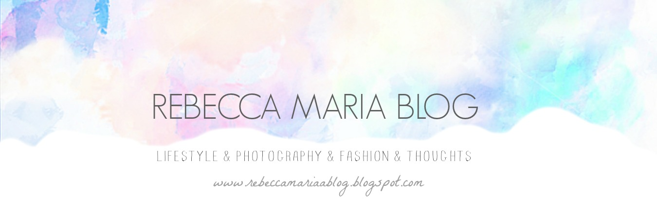 Rebecca Maria Blog