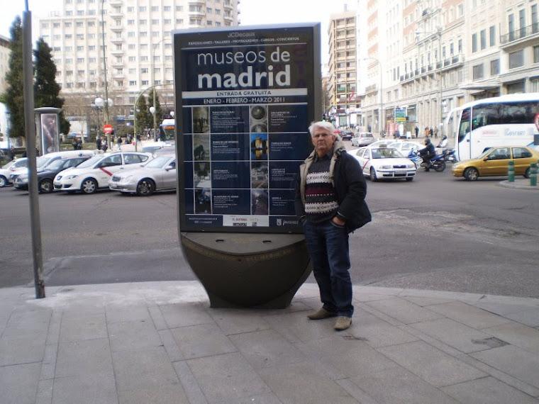 Em Madri,uma viagem inesquecível,Fev/2011