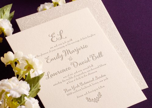 William Arthur And Vera Wang Personalized Wedding Invitations Say It All,  And Now Through March 31st, You Can Receive An Additional 25 Pieces Free!