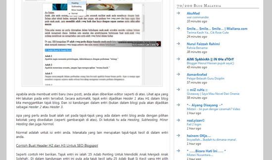 Bloglist 200 Blog HASRULHASSAN.COM