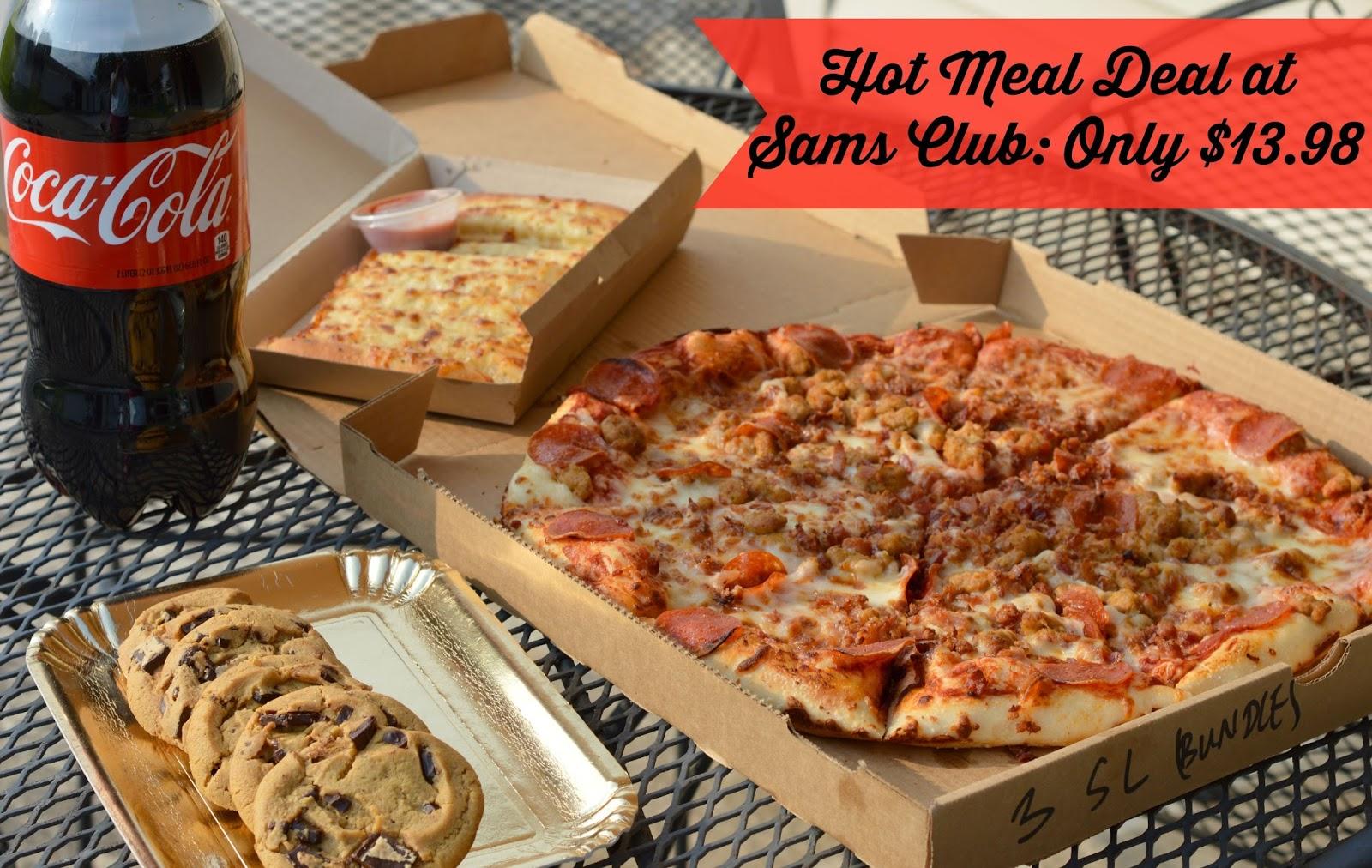 picture Sams Clubs secret menu includes a pizza pretzel that combines your two favorite food court snacks