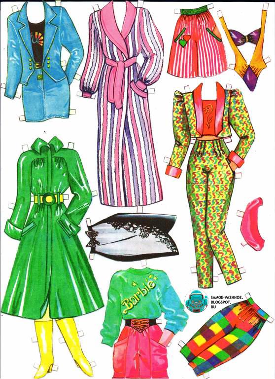 Вырезные куклы с одеждой 90е. Бумажные куклы перестройка девяностые.