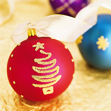 Easy christmas tree ornaments new 2012 ideas modern for Easy to make christmas tree ornaments