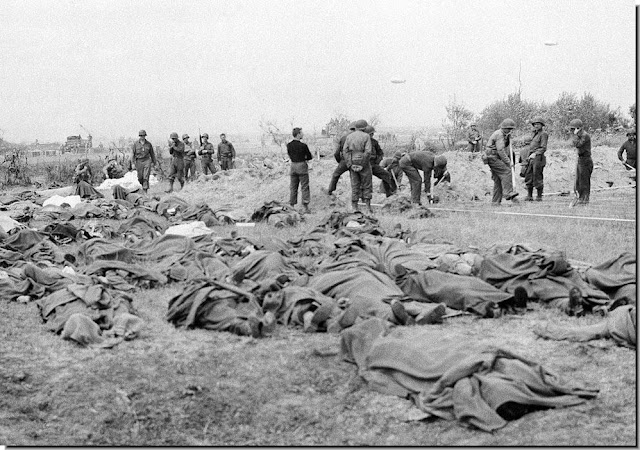 June 20,1944.American dead  French field