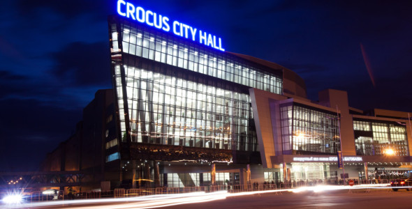 Miss Universe 2013 Host Country Venue Crocus City Hall in Moscow Russia