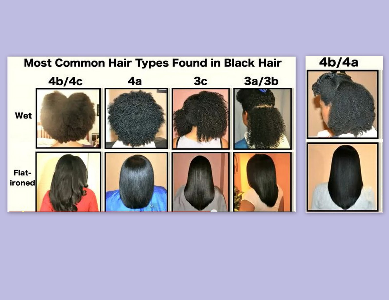 Common Natural Hair Types For The Love Of Curls