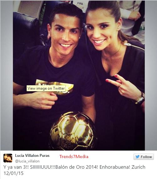 Ini Dia Foto Wanita Seksi yang dikencani Cristiano Ronaldo setelah putus dari Irina Shayk - Trends7Media