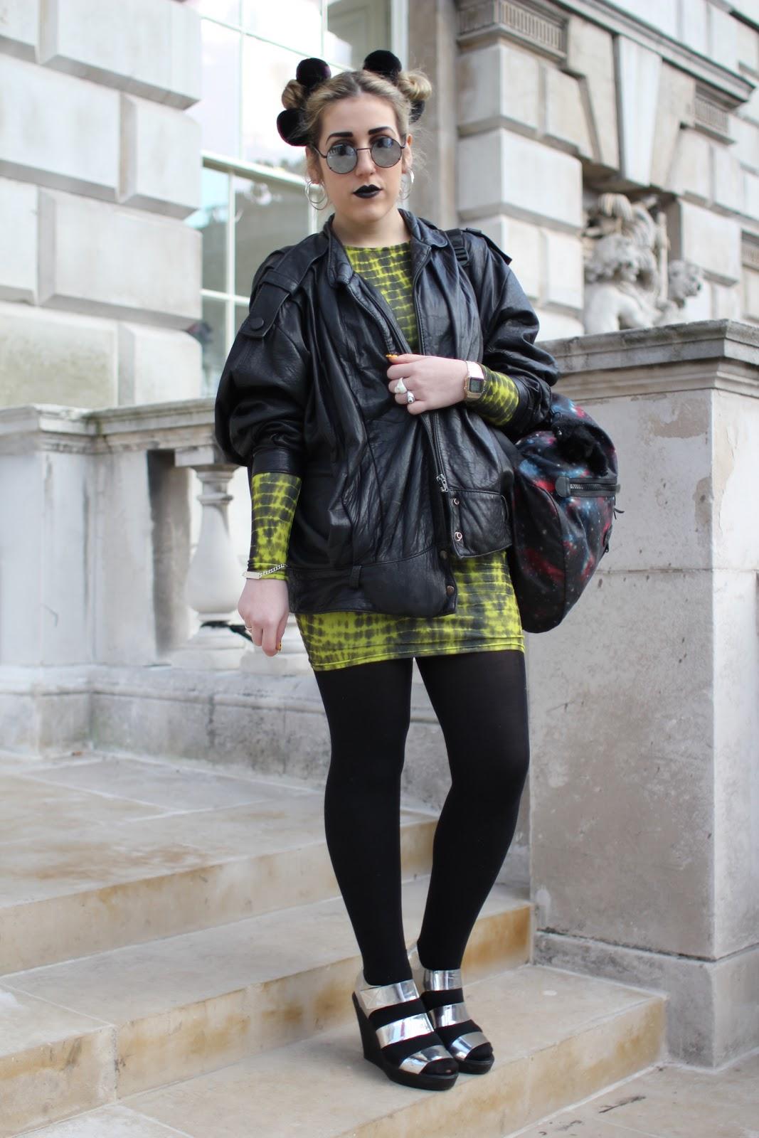 Styleeast London Fashion Week Street Style Gaga Ooh La La