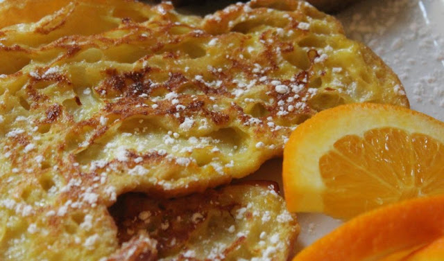 orange croissant French Toast