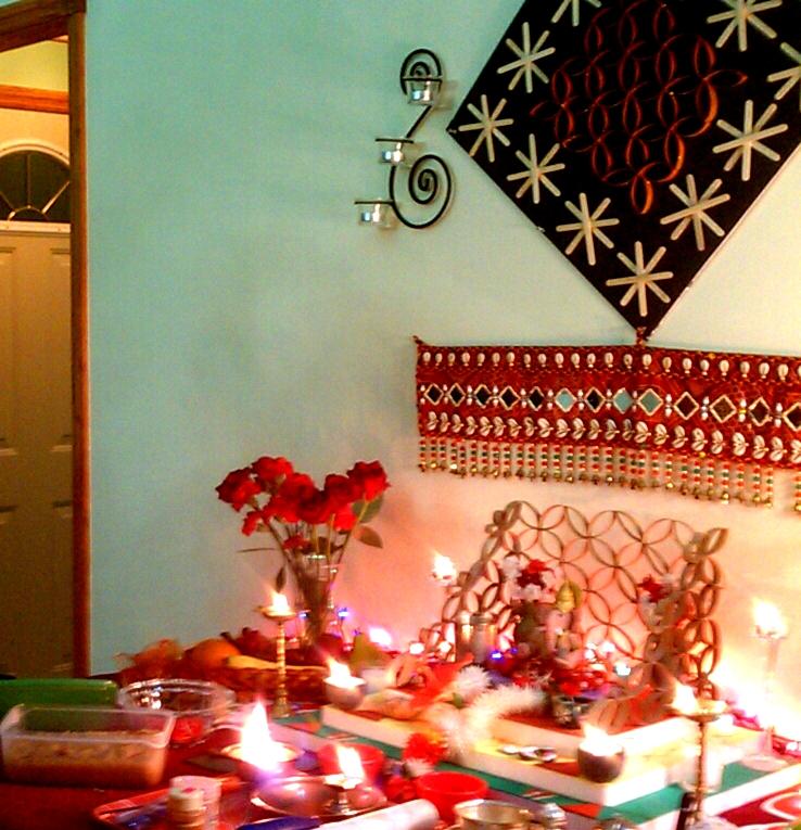 Ganapati Decorations 2012