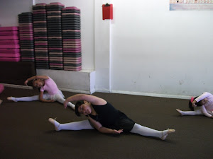 Young Dancers Stretching