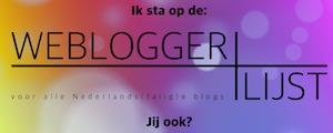 Webloggerlijst