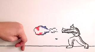 Maker vs Marker : bataille entre une Main et un Dessin