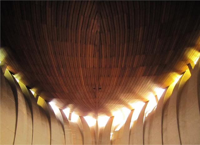 Sostre de fusta de la Parròquia de la Mar