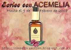 """Sorteo de """"Cosmetica en Accion"""" y Acemelia"""