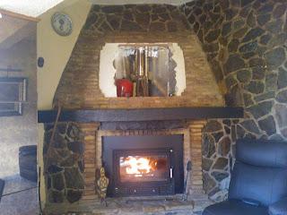 Decoracion mueble sofa estufas de lena para calefaccion Como instalar una chimenea de lena