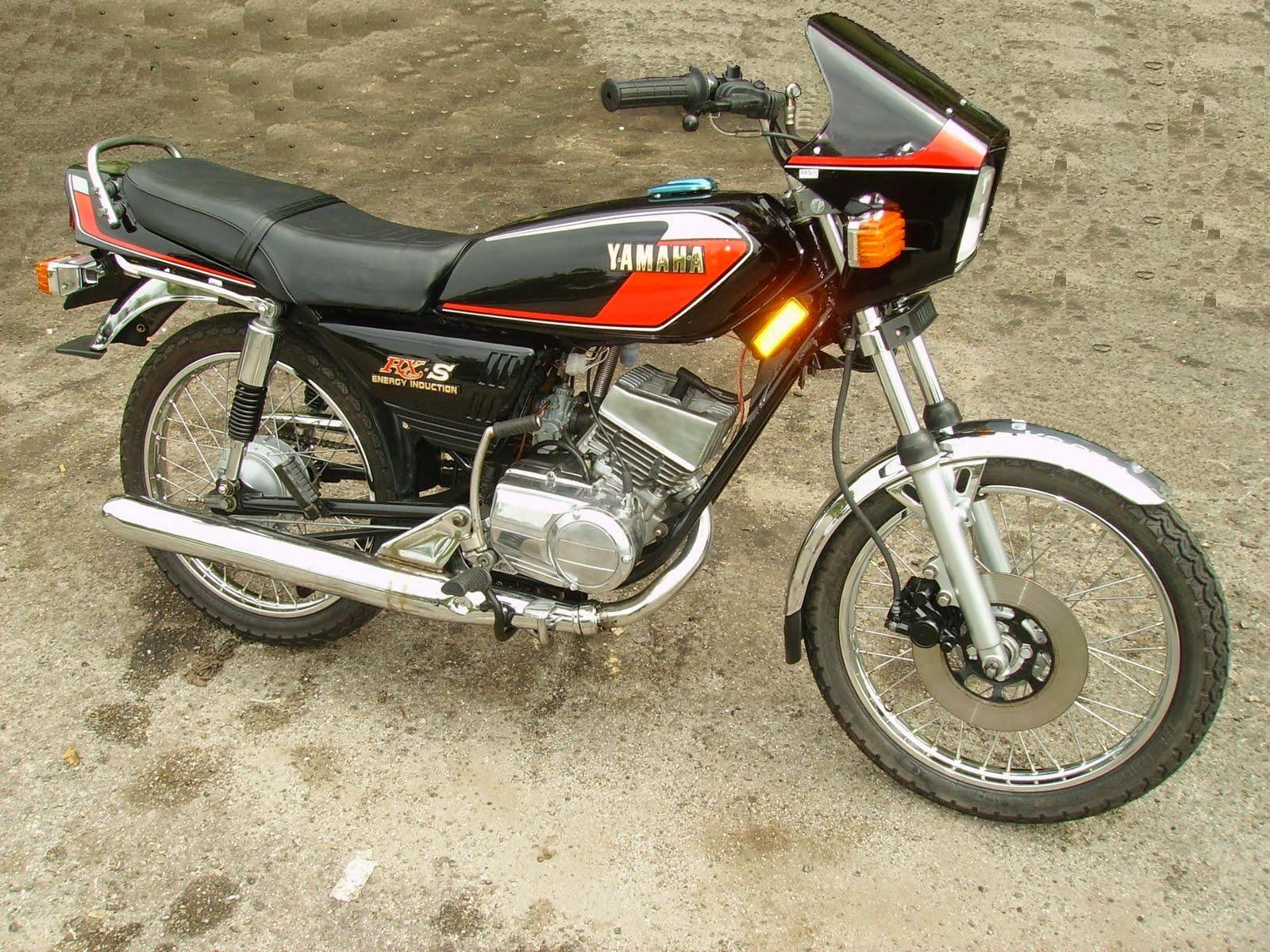 Spesifikasi Yamaha RX S   Motor Ganteng
