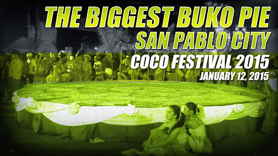 The Biggest Buko Pie, Unang Hirit, GMA 7, San Pablo City Cocofest 2015, January 12, 2015