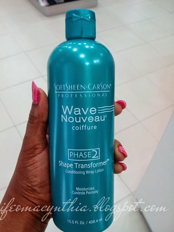 Ifeoma Adeyinka Product Review Wave Nouveau