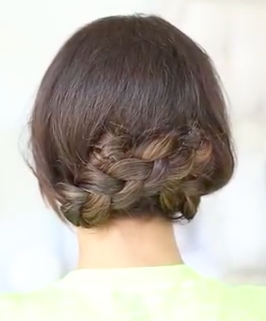 Easy Updo For Long Hair Hairstyle Tutorial