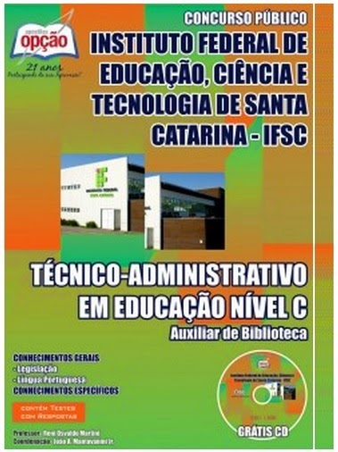 Apostila IFSC - Instituto Federal de Santa Catarina 2014.