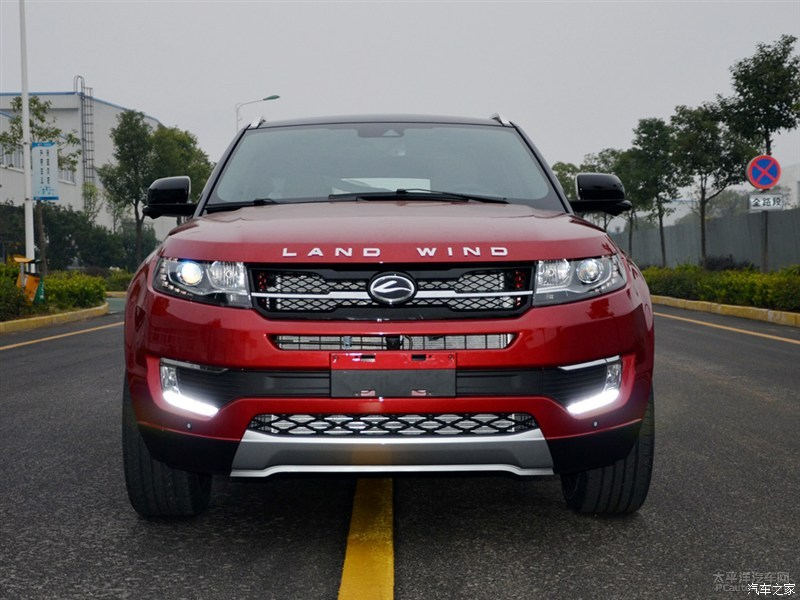 New Land Wind X7 Is China S Range Rover Evoque Knockoff