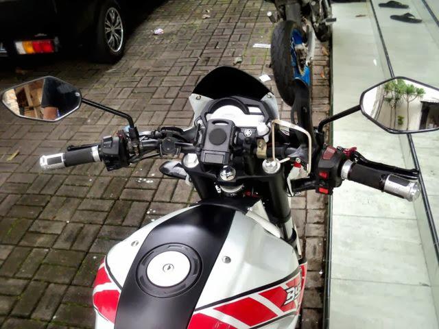 Modifikasi Yamaha Byson 2013 Touring Sederhana