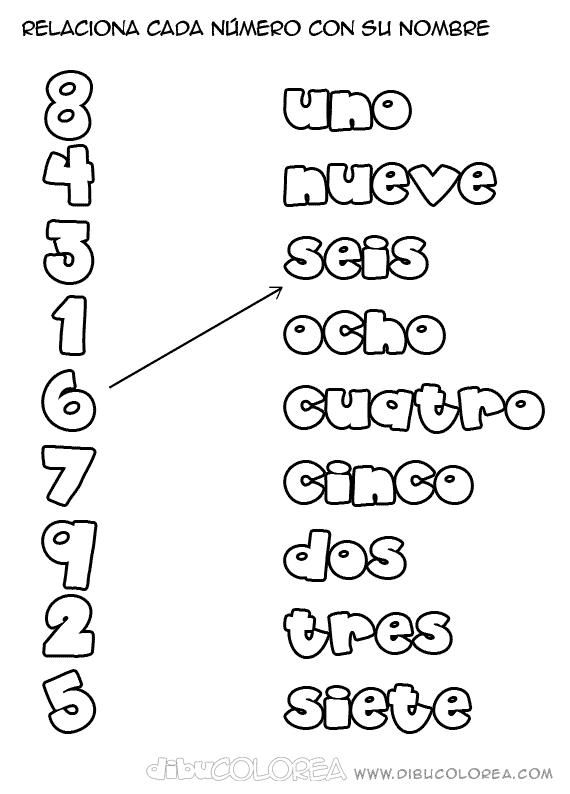 los nmeros en preescolar - photo #12