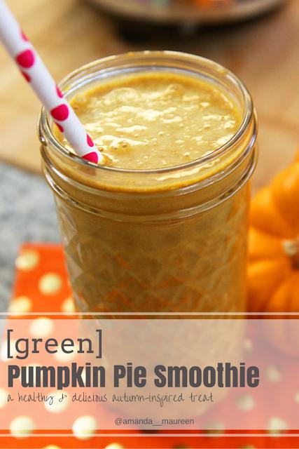 Pumpkin, Green Smoothie, Pumpkiin Pie, Recipe, Healthy Eats