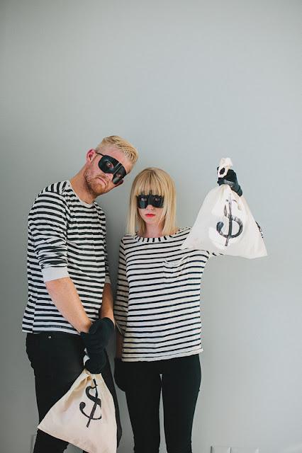 Disfraz ladron de banco