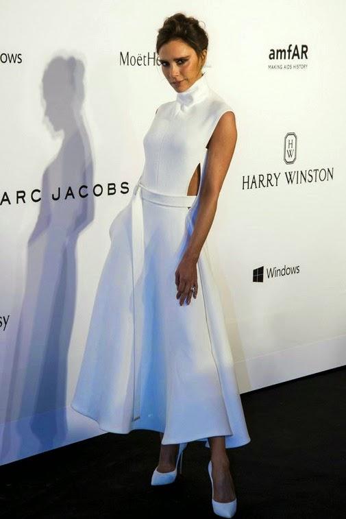 Victoria Beckham usando Victoria Beckham branco