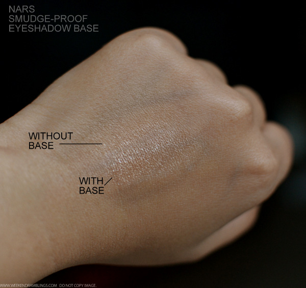 NARS Pro Prime Eyeshadow Base Smudgeproof Makeup Primer Indian Beauty Blog Review