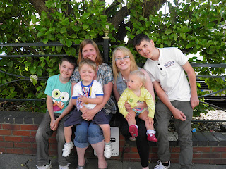 Kian, Isaac, Me, Abbey, Eliza and Callan