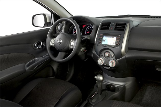 2012 New Edition Nissan Versa Sedan interior