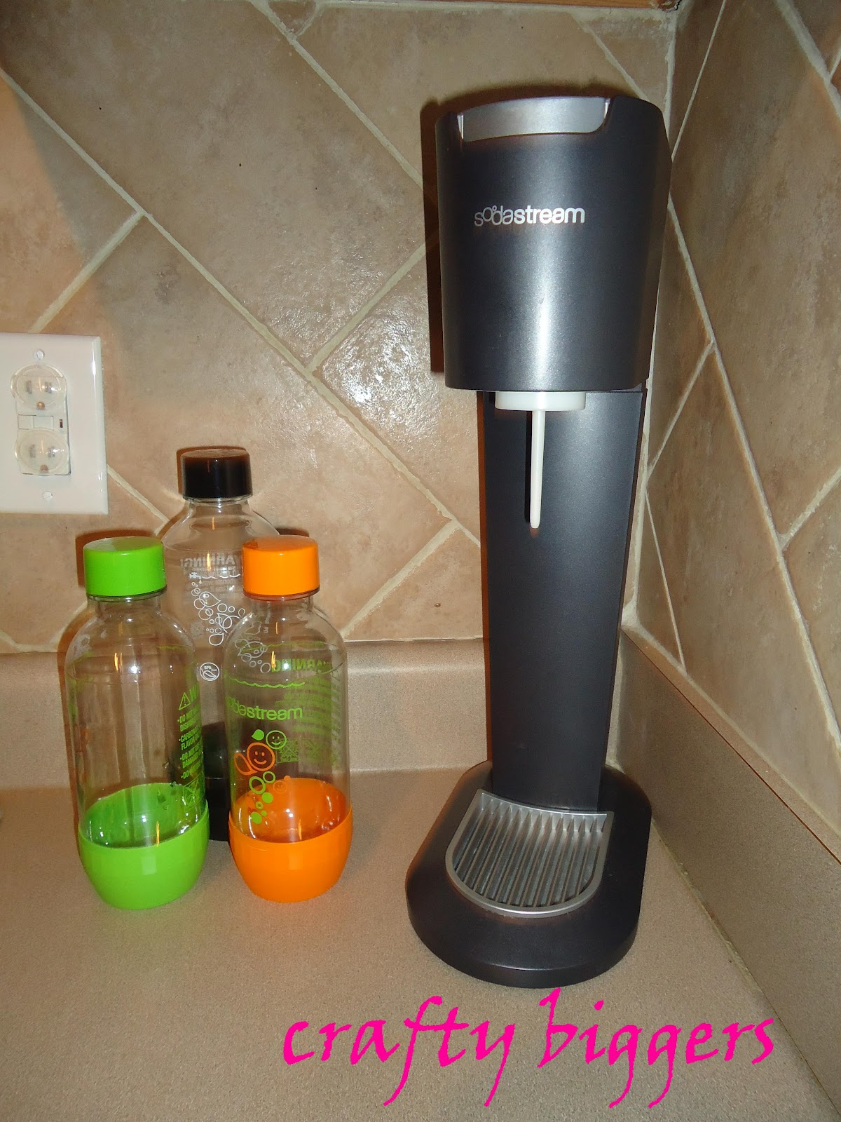 crafty biggers product review soda stream. Black Bedroom Furniture Sets. Home Design Ideas