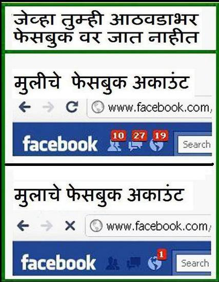 Marathi sms  Facebook