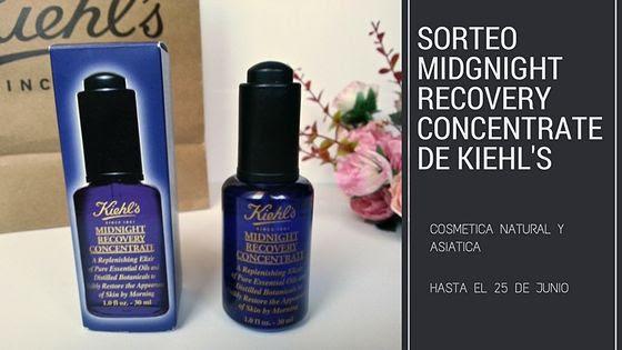 SORTEO MIDGNIGHT RECOVERY CONCENTRATE DE KIEHL'S